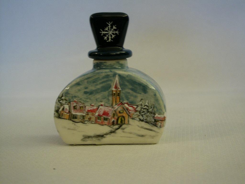 Boccetta in ceramica