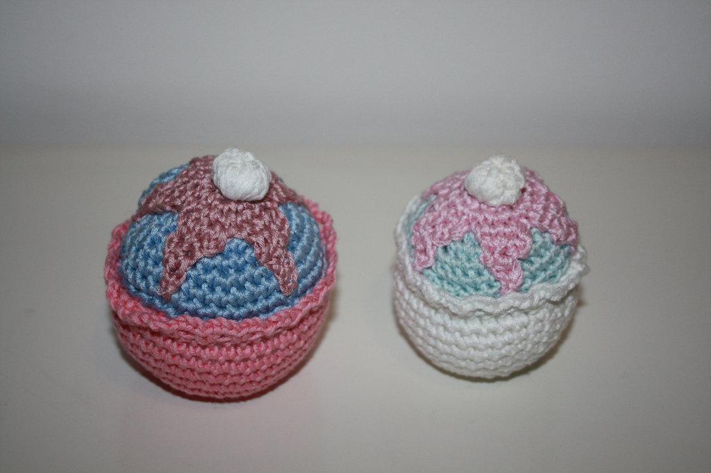 Cupcake in cotone