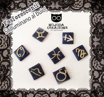 Ciondoli Zodiaco// Zodiac Pendants
