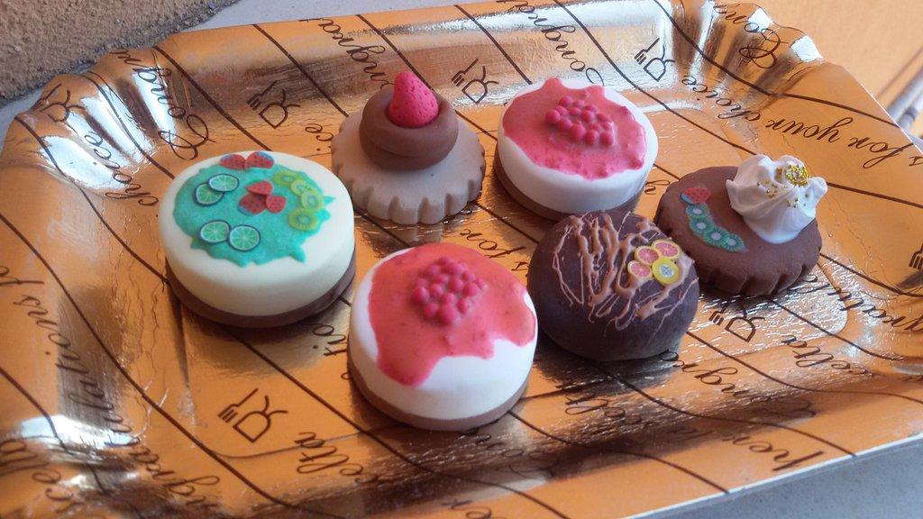 Mini dolcetti in fimo
