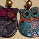 Collane etniche bijoux artigianali, fimo e paste polimeriche.