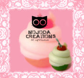 Ciondolo Cupcake // Cupcake pendant