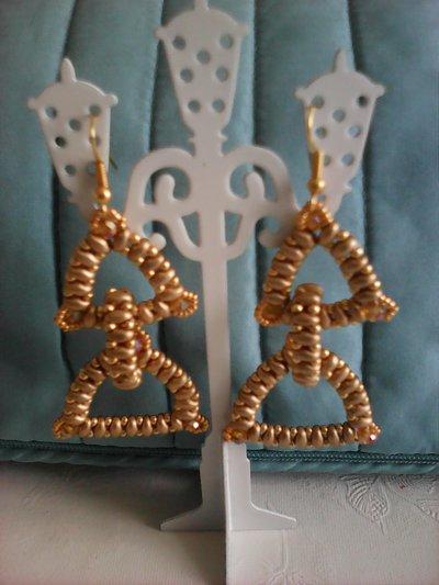 orecchini pendenti gold
