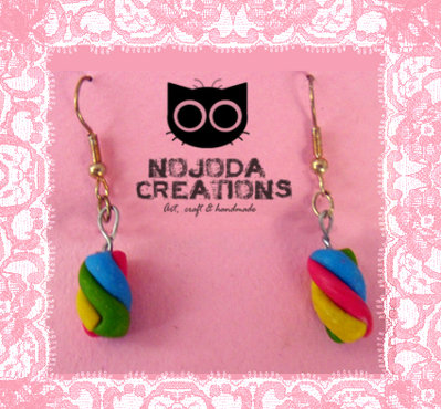 Orecchini arcobaleno // Rainbow Earrings