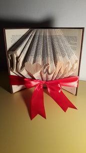 Libro decorativo - *Ti Amo* - ESEGUO SU COMMISSIONE