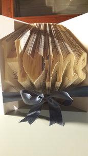 """Idea Regalo - Libro decorativo """"Home"""" - ESEGUO SU COMMISSIONE!"""
