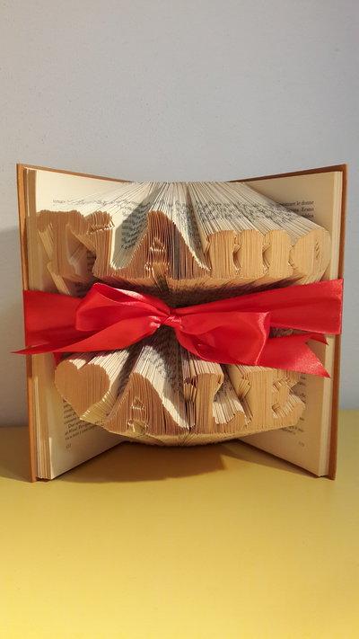 """Idea regalo """"Ti amo Ale"""" su due righe. ESEGUO SU COMMISSIONE!"""