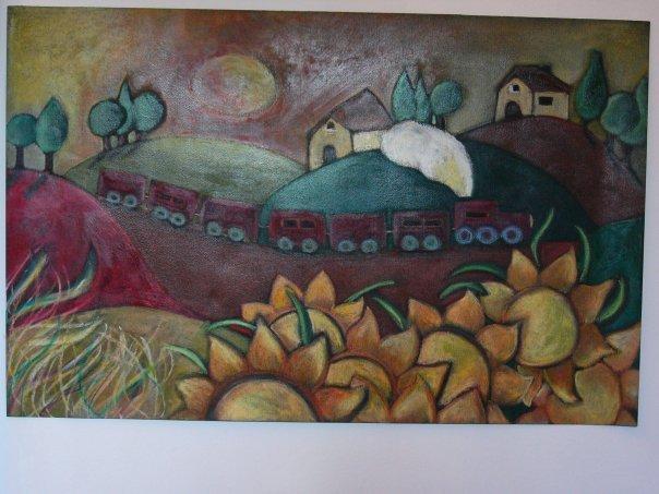 """""""Dolce autunno"""" cartoncino (30x40cm)"""