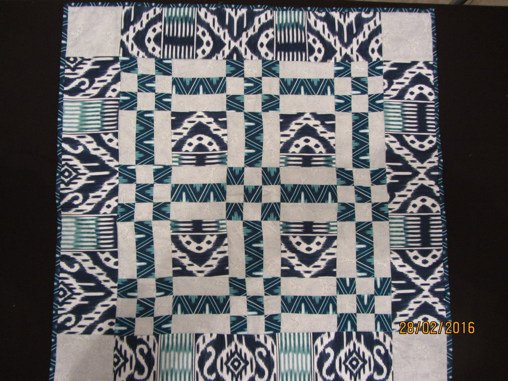 Centrotavola patchwork moderno