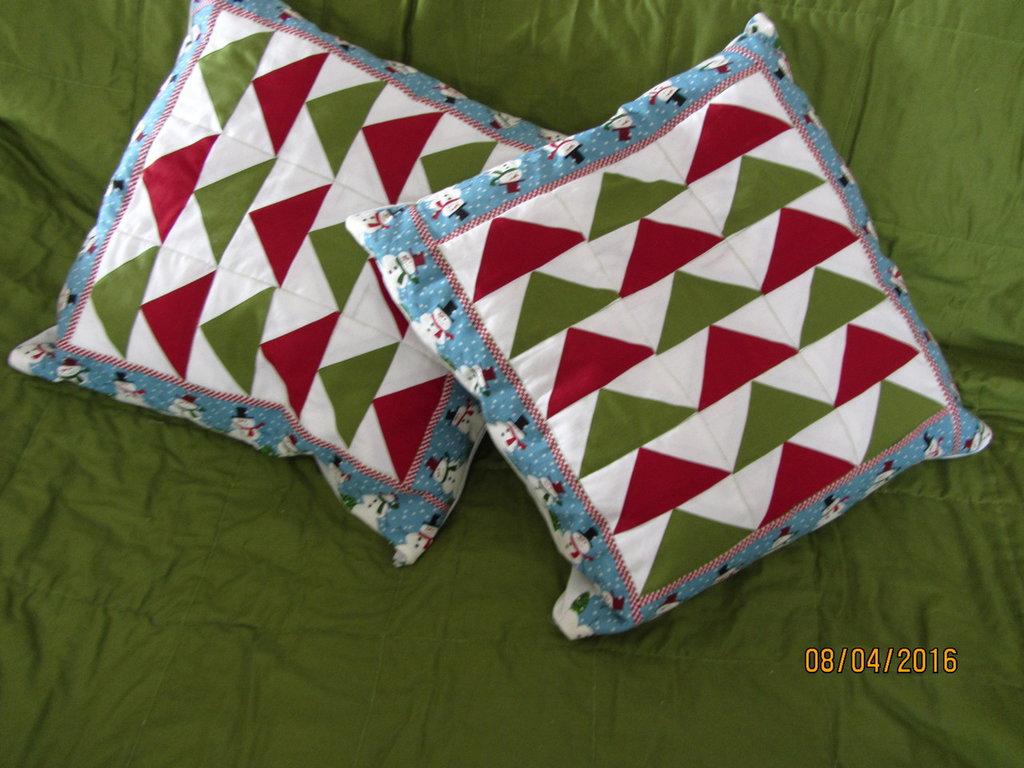 Fodere cuscini patchwork