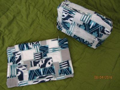 Set 2 astucci patchwork