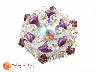 Anello cristallo superduo Dalia 09
