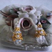 orecchini galvanizzati oro