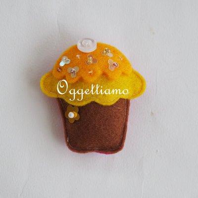 Calamite a forma di dolcetto realizzate interamente a mano come bomboniera per la festa della tua bambina!