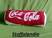 CUSCINO COCACOLA CLASSICA IDEA REGALO