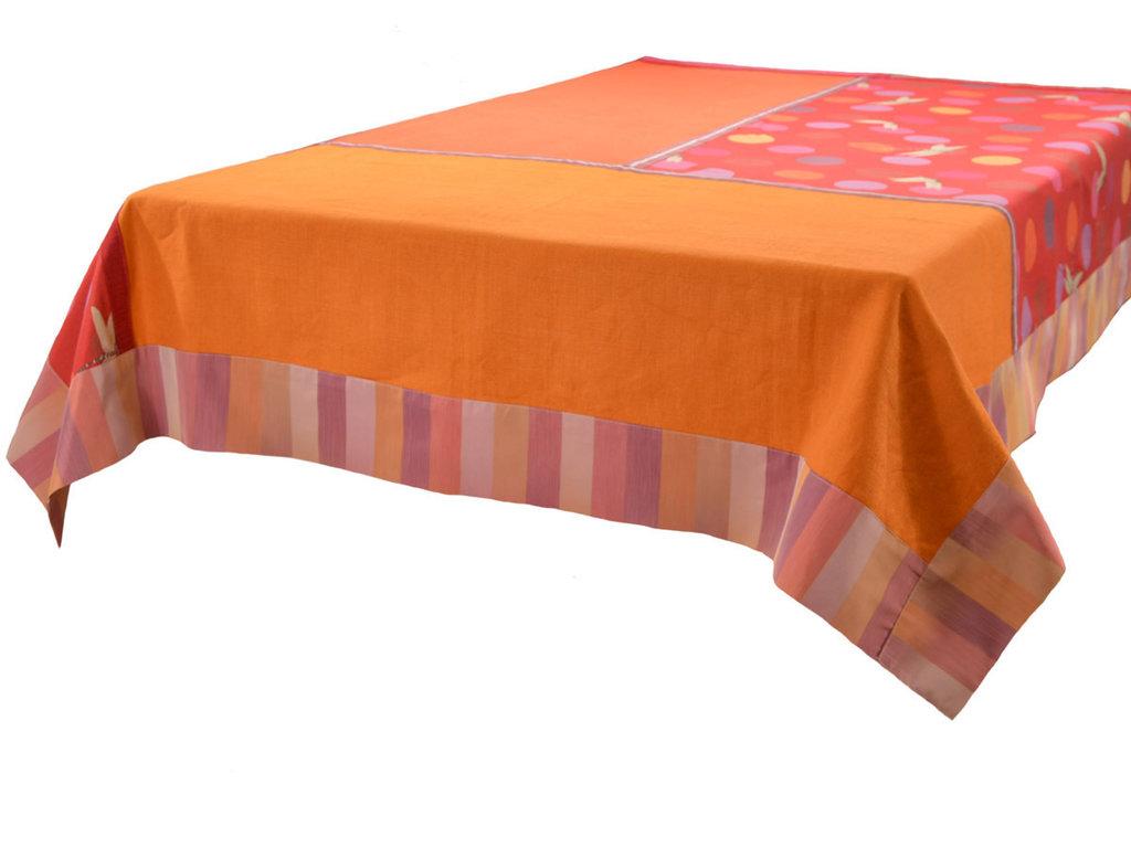 Tovaglia arancio patchwork