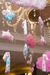 Nuvoletta tulle per decorazione feste o cameretta