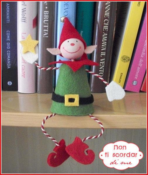 Un piccolo aiutante di Babbo Natale