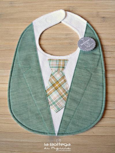 Bavaglino Giacca e Cravatta