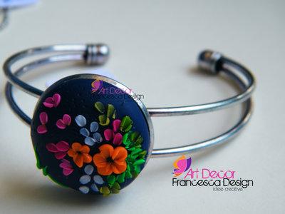 bracciale fiori di primavera 1