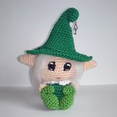 Folletto del bosco amigurumi