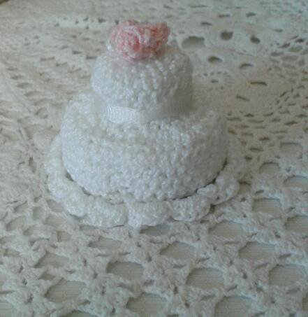 Segnaposto matrimonio wedding cake