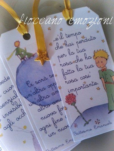 Matrimonio Tema Piccolo Principe : Tag segnalibro piccolo principe feste bomboniere di