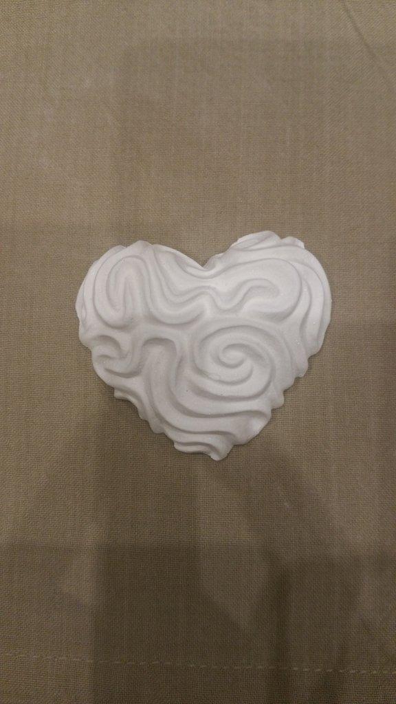 Set di 5 gessetti a forma di cuore