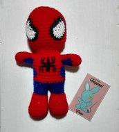 Spider- man amigurumi