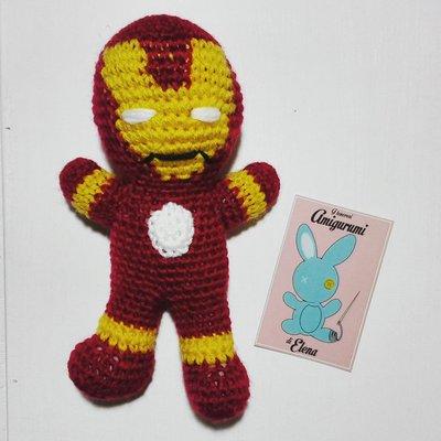 Iron man amigurumi