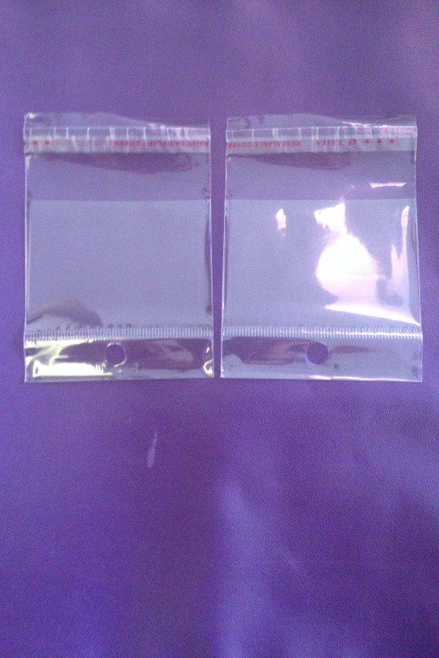 20 bustine trasparenti adesive