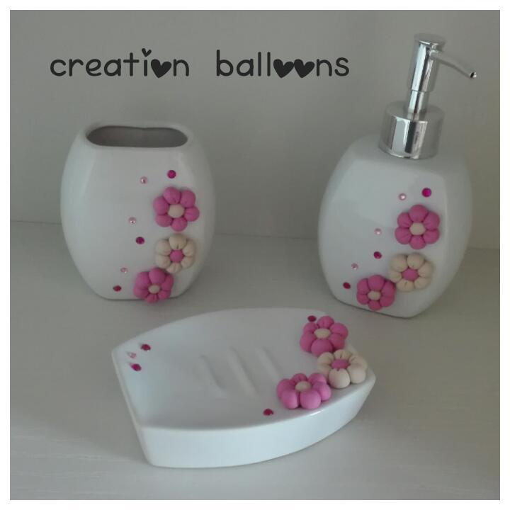 set da bagno - Per la casa e per te - Bagno - di Creation Balloons ...
