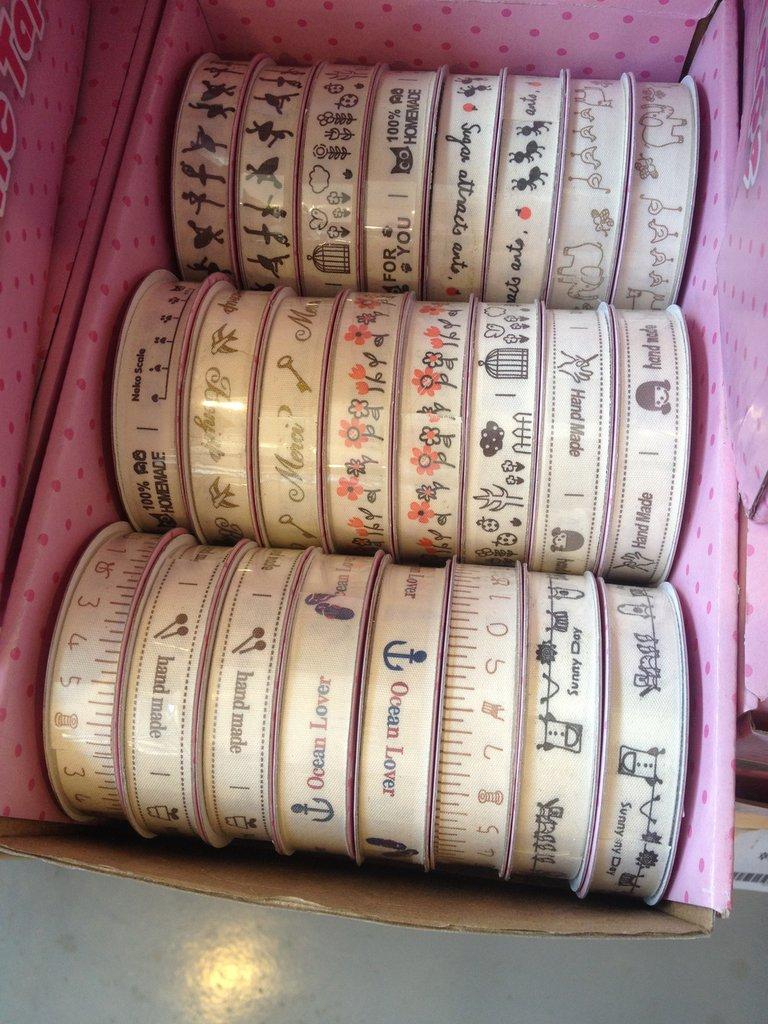 nastri etichetta in cotone