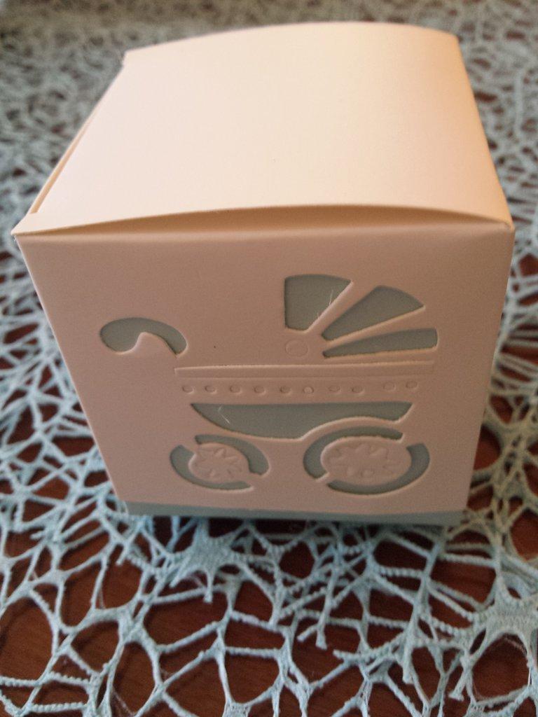 Bomboniera Nascita-Battesimo scatolina 2
