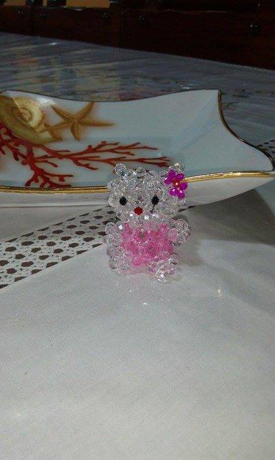 Hello Kitty con perline