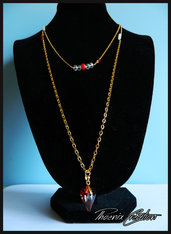 Collana red passion