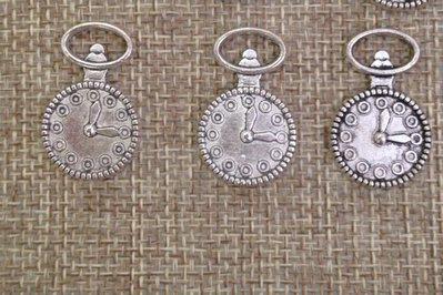 charms a forma di orologio