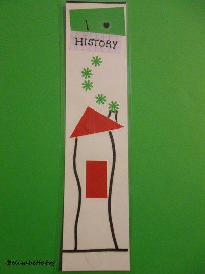 segnalibro I LOVE HISTORY