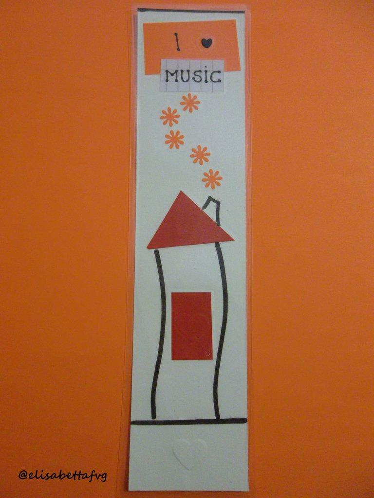 segnalibro I LOVE MUSIC