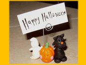 Happy halloween Fantasma zucca gatto nero