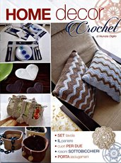 HOME DECOR CROCHET RIVISTA  DI NUNZIA DIGLIO