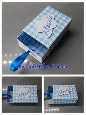 scatolina di fiammiferi porta confetti