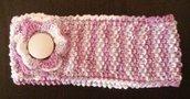 Fascia neonata lavorata a maglia