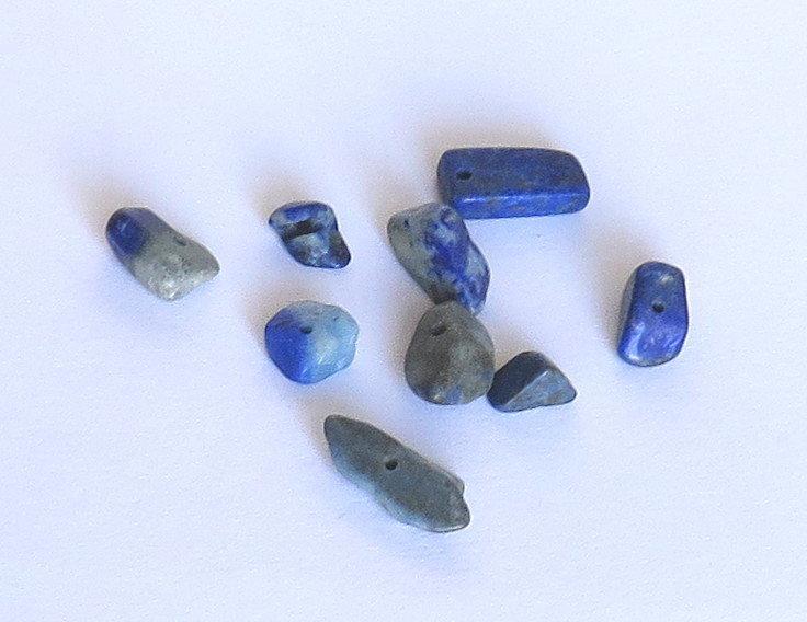 50 Frammenti LAPIS LAZULI blu FMP 8