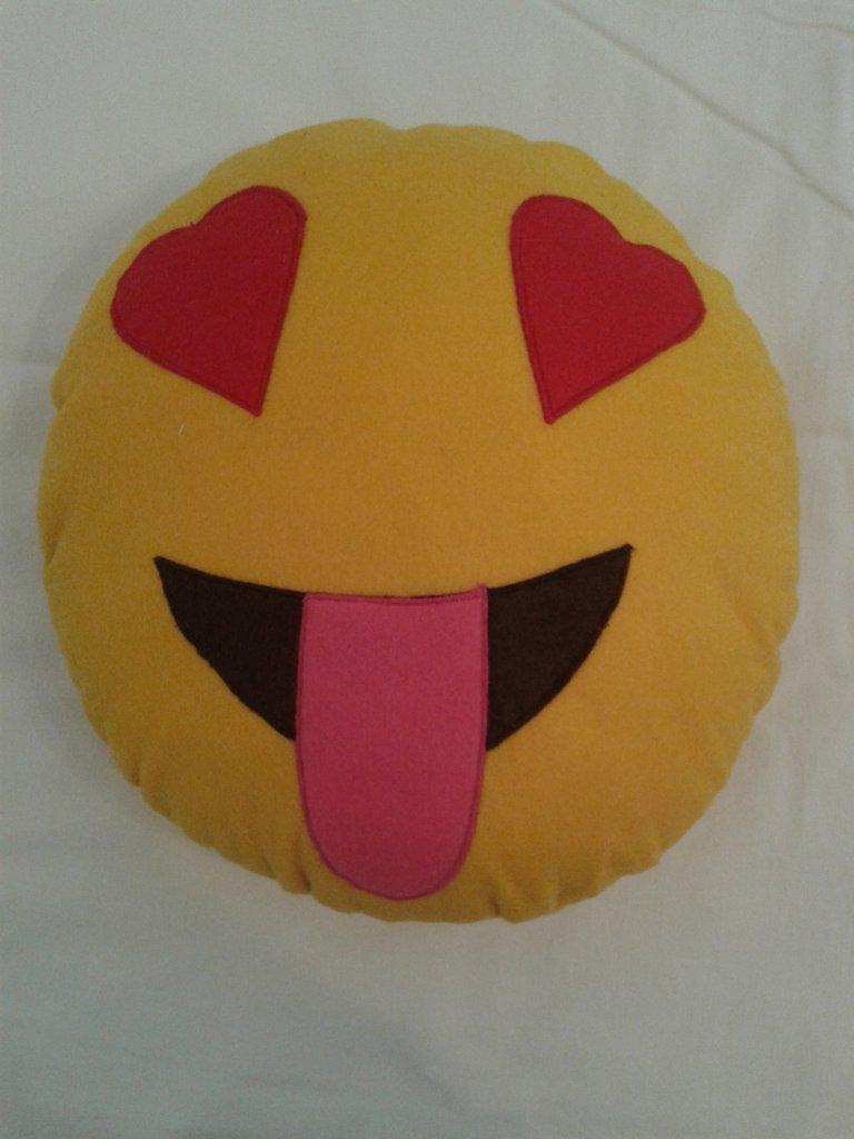 Cuscino faccina di smile