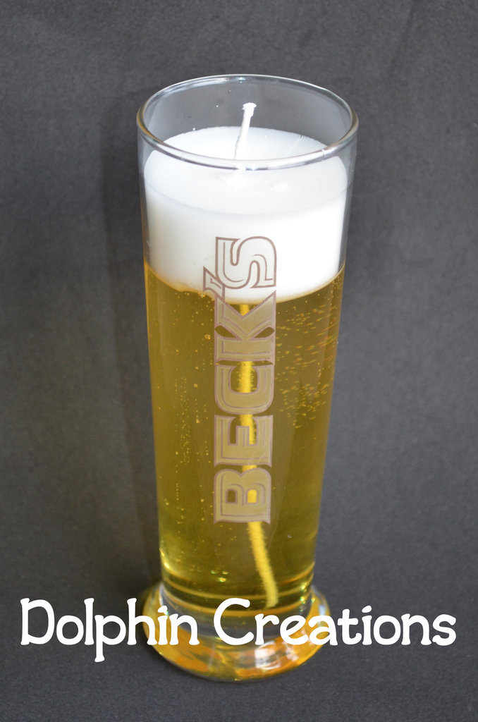 "Candela profumata birra ""Beck's"""