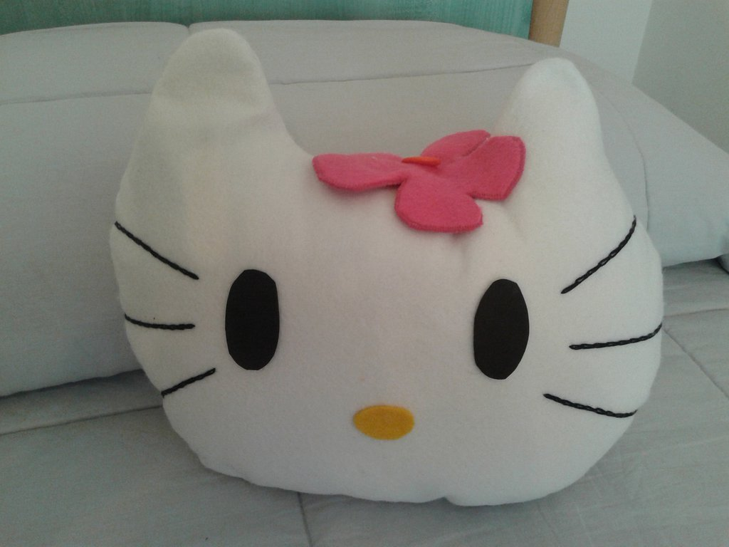 Cuscino Hallo Kitty per voi