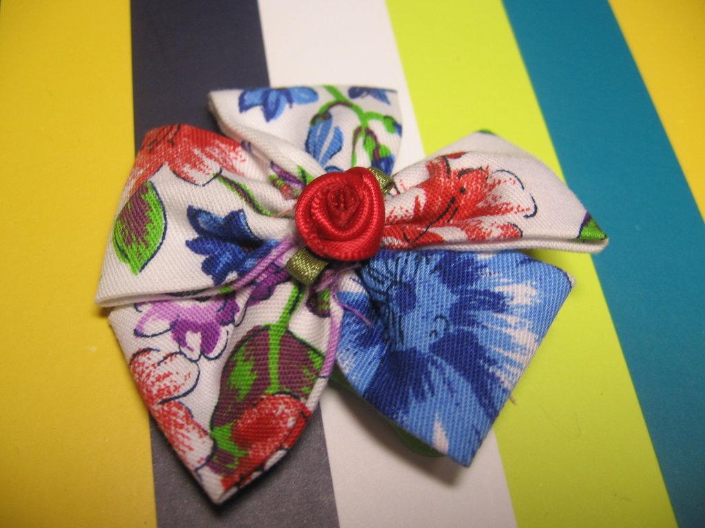 Mollettina per Capelli Fiore #1