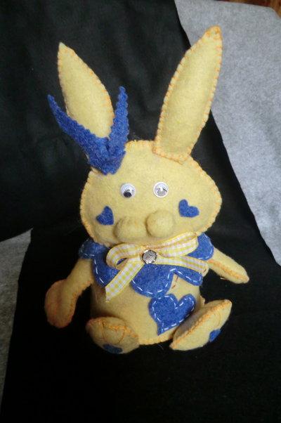 Coniglietto ferma-porta piccolo