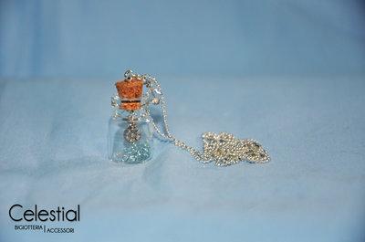 Collana boccettina - Cristal